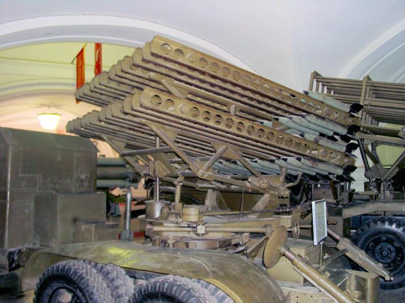 """БМ-31 12 пусковая установка """"Катюша"""" - WalkAround"""