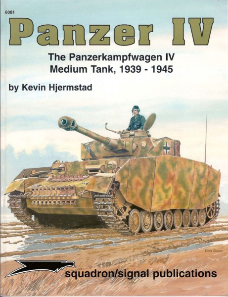 Concord 6081 - Panzer IV The Panzerkampfwagen IV Medium Tank 1939-1945
