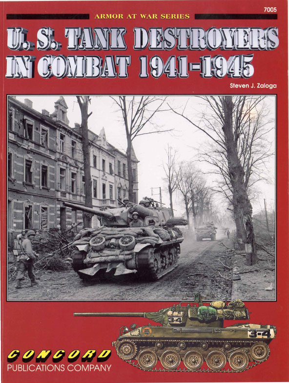 Concord 7005 - US Tank Destroyers in Combat 1941-45