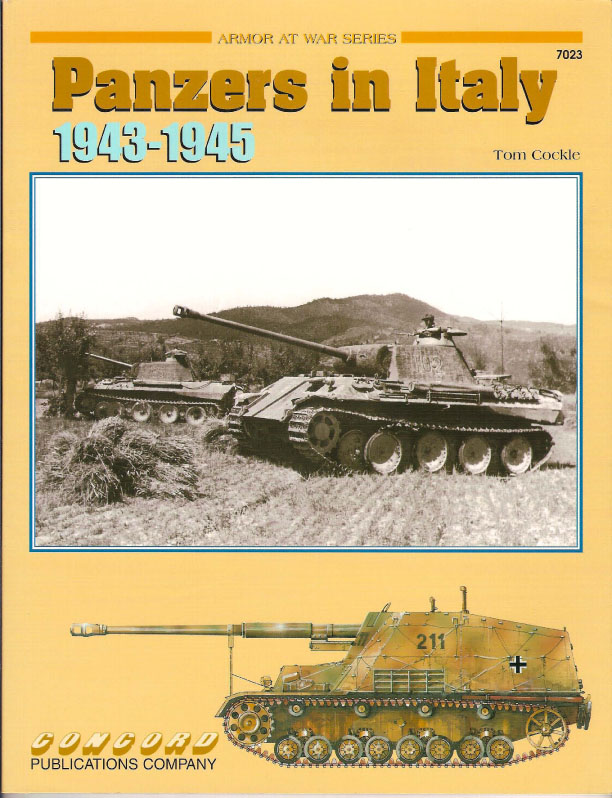 Panzers in Italy 1943-1945 - Armor At War 7023