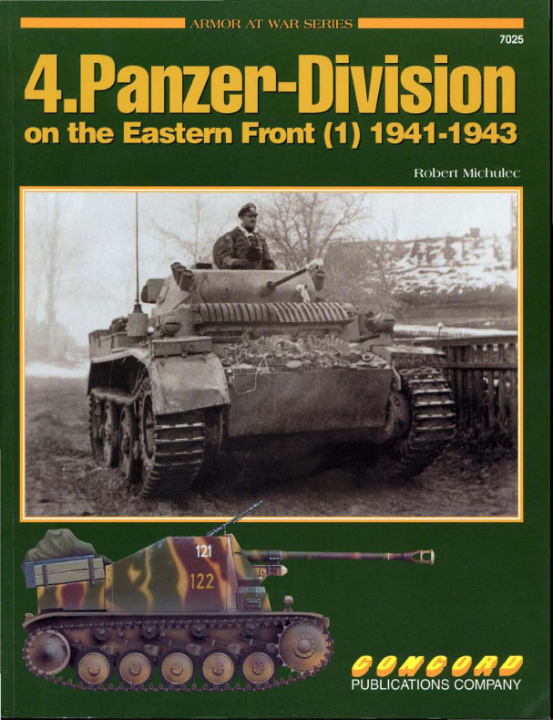 4.Panzer-Division 1941-1943 - Armor At War 7025