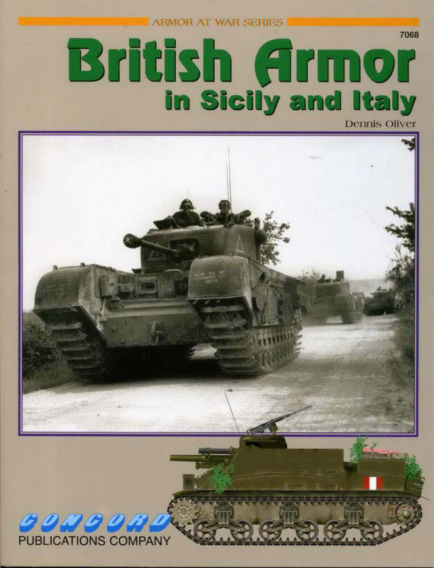 英国的装甲和意大利西西里岛-甲战7068