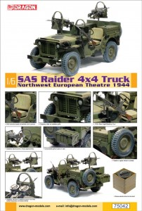 SAS Raider 4x4 Truck - Northwest European Theatre 1944 - DML 75042