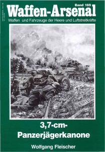 Das Waffen arsenal 169 - 3,7 cmPanzerjaegerkanone