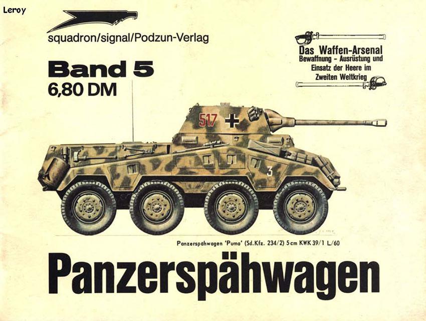 Das waffen arsenale 005 - Panzerspähwagen