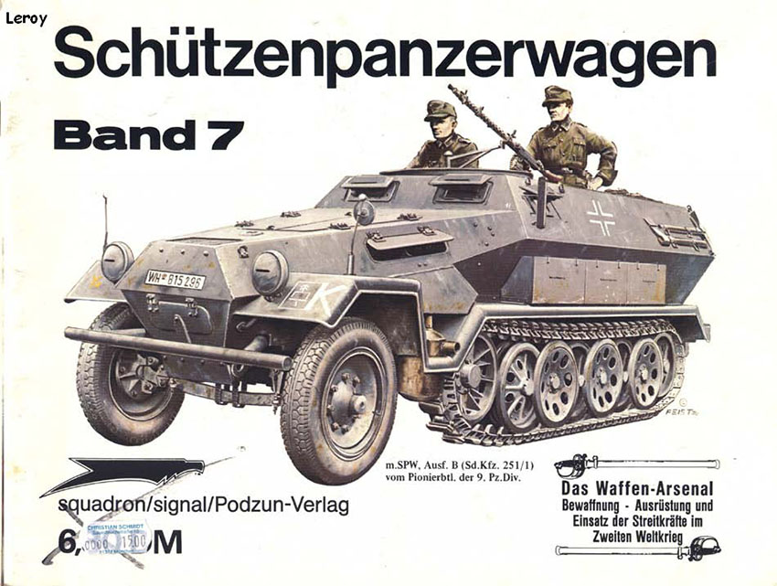 The waffen arsenal 007 - Armoured armoured vehicles