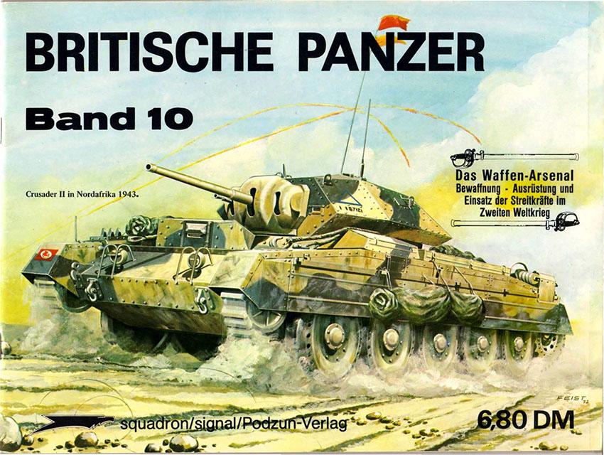 Das waffen arsenal 010 - Britische Panzer