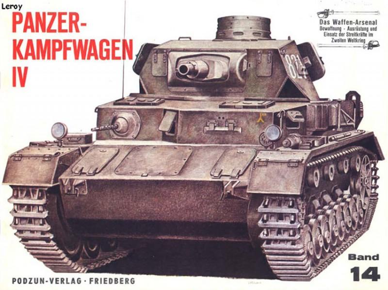 Våpen arsenal 014 - Panzerkampfwagen IV
