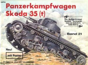 Das waffen arsenal 021 - Panzerkampfwagen Skoda 35 t