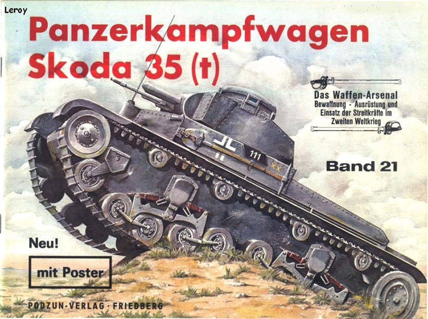 The weapons arsenal 021 - Panzerkampfwagen Skoda 35 t