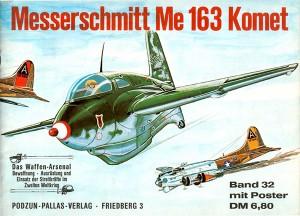 Das waffen arsenal 032 - Messerschmitt Me 163 Komet