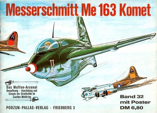 Den arsenal av vapen 032 - Messerschmitt Me 163 Komet