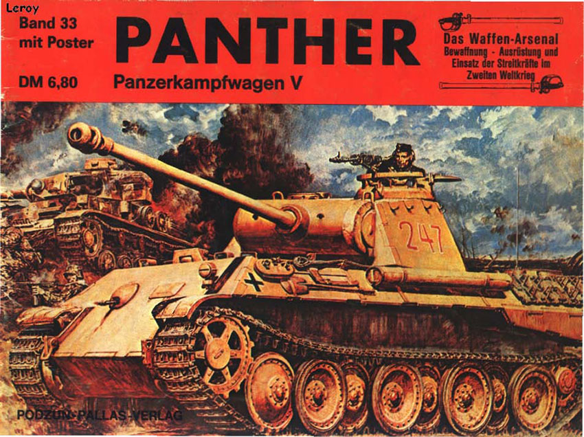 Das organizácie waffen arsenal 033 - PzKpfw V Panther