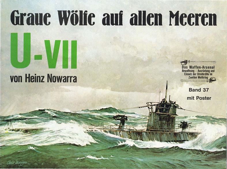 Das waffen arsenal 037 - Sukellusvene Uboat U-VII
