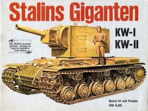 Das waffen arsenale 041 - Stalins Giganten KW, KW-II