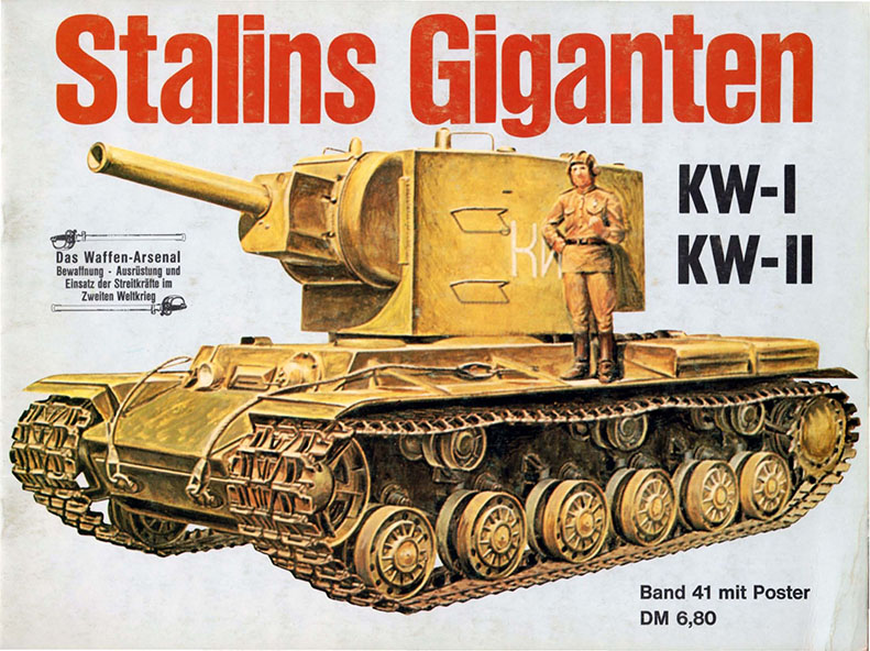 Waffen arsenal 041 - Stalins Giants KW-I, KW-II