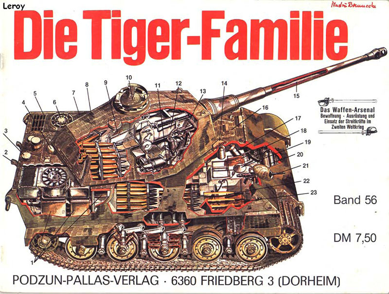 Tiger familie - Waffen Arsenal 056