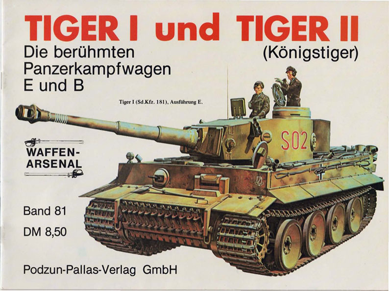 Das waffen arsenal 081 - Tiiger I Ja Tiger Ii
