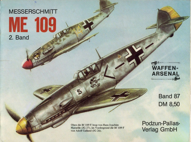 The weapons arsenal 087 - Messerschmitt Me 109 pt