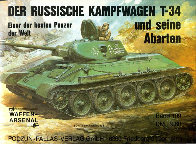 Das waffen arsenal 109 - T-34
