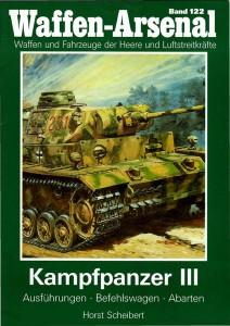 L'arsenale di armi 122 carro Armato III