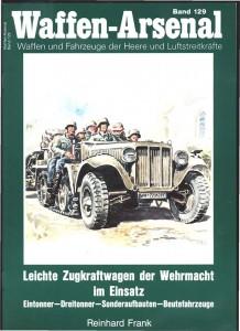 ワッフェン・アーセキュラー129 - ドイツ国防軍の軽トラクタートレーラー