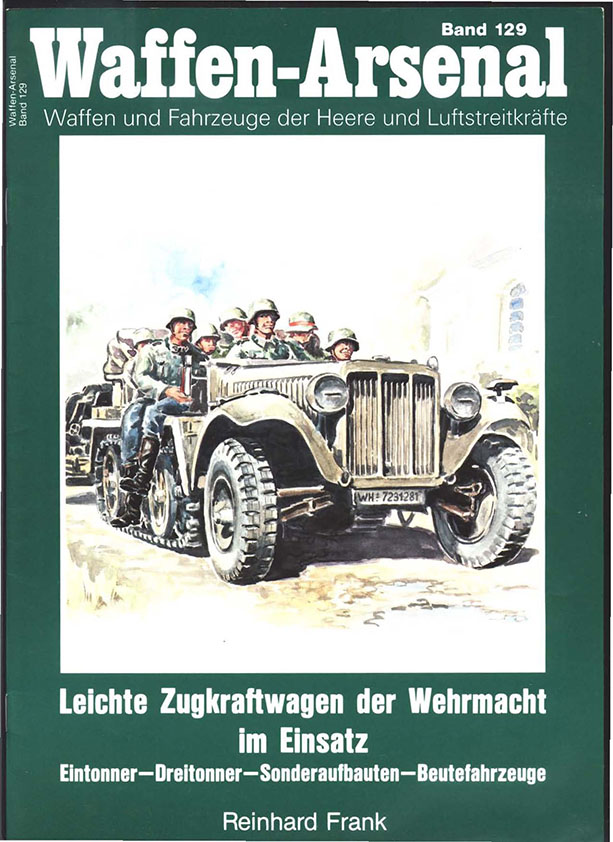 The waffen arsenal 129 - Light tractor-trailer of the Wehrmacht