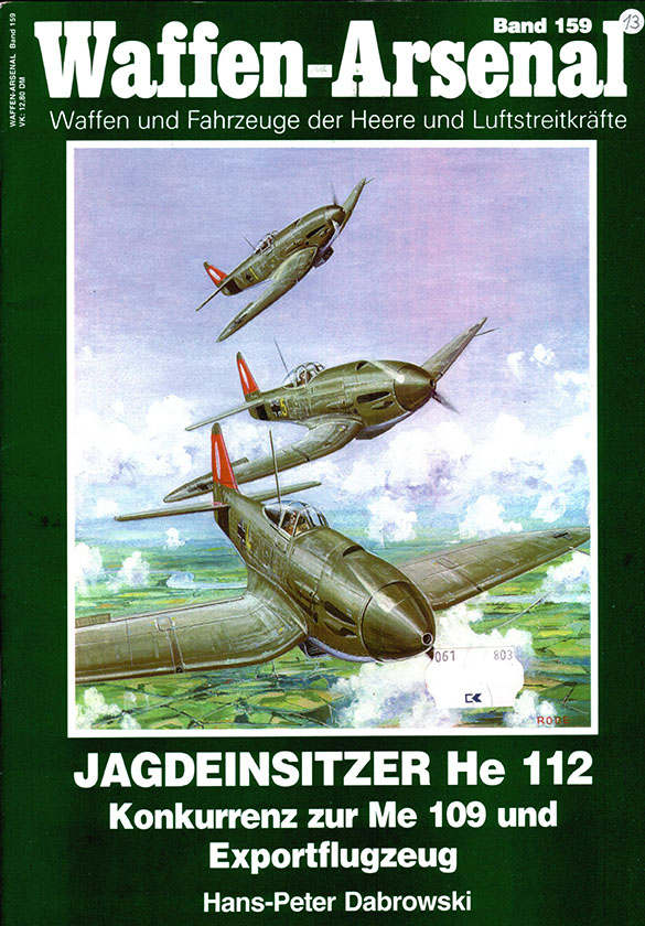 Das waffen arsenaal 159 - Heinkel He-112