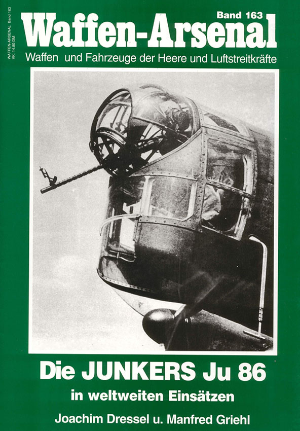The arsenal of weapons 163 - Junkers Ju-86