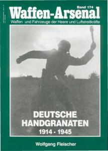 Ginklų arsenalą 174 - vokietijos rankinių granatų 1914-1945