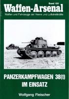 Das waffen arsenal 181 - Panzerkampfwagen 38(t) im Einsatz