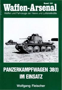 Арсенал зброї 181 - Panzerkampfwagen 38(t) у використанні