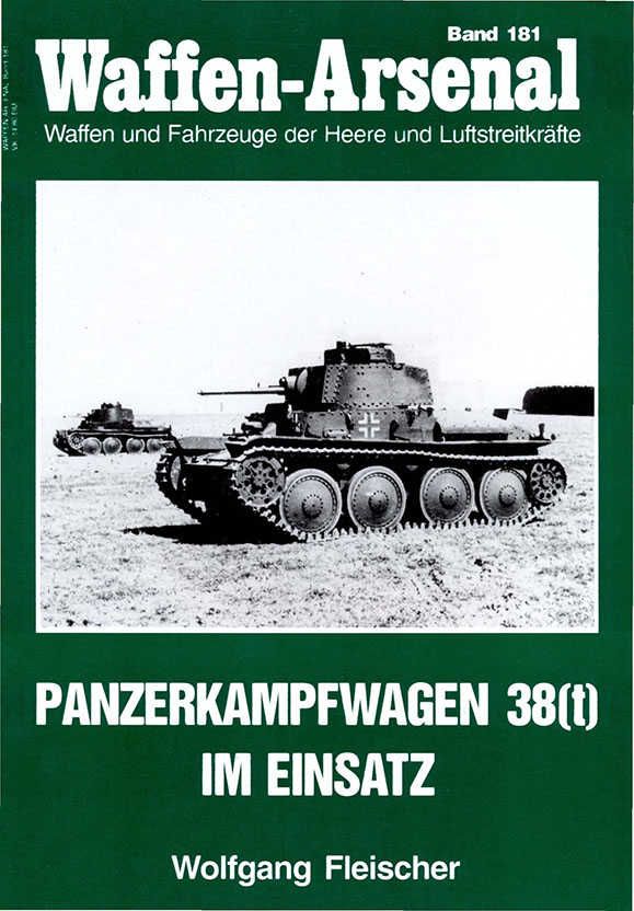 The arsenal of weapons 181 - Panzerkampfwagen 38(t) in use