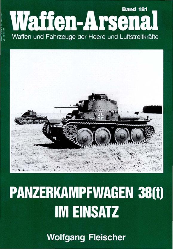 Das waffen-arsenal 181 - Panzerkampfwagen 38(t) im Einsatz