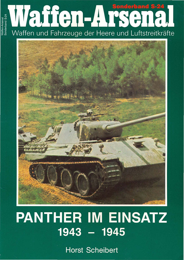 Das waffen арсенал SH024 - Пантера им Эйнзац 1943 - 1945