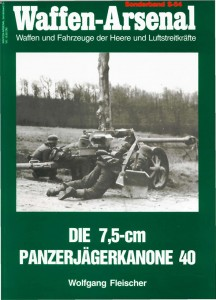 Waffen-Arsenal speciale band S-54 - Het 7,5 cm tank kanon
