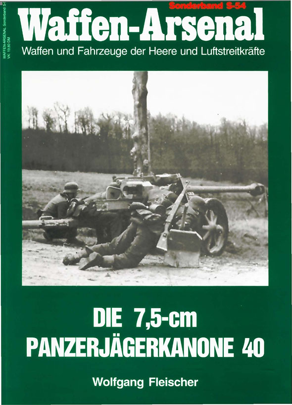 Waffen-Arsenal spesielle band S-54 - 7.5 cm anti-tank våpen