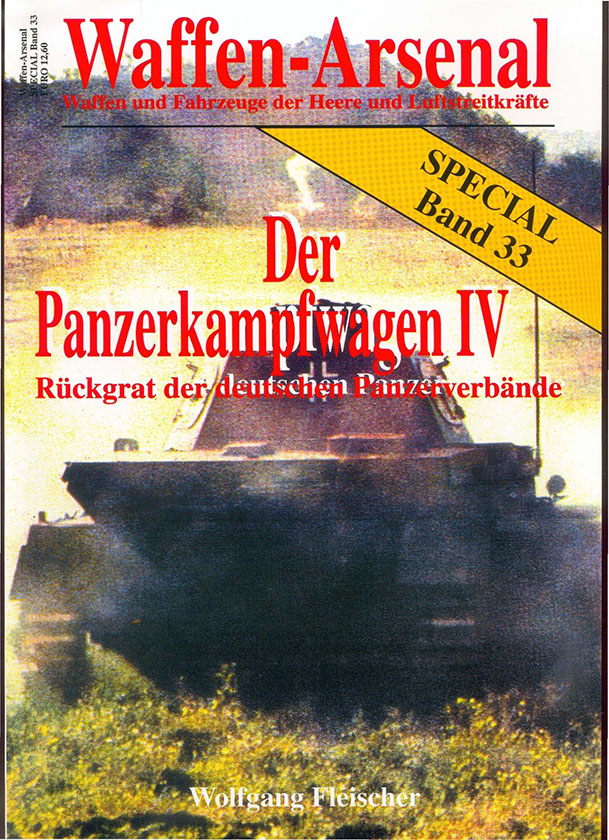 The arsenal of weapons SP033 - The Panzerkampfwagen IV