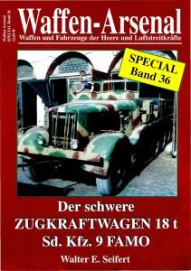 Das waffen arsenal SP036 - Der schwere Zugkraftwagen 18t Sd.Kfz.9