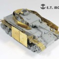 Set British Sherman IC Firefly Hybrid - E. T. MODEL ET35-092
