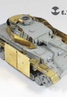 WWII German Pz.Kpfw.IV Fender - E.T.MODEL E35-047