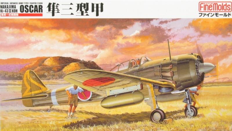 Multa Moldes FB3 - IJA Tipo 1 Fighter II NAKAJIMA Ki-43-III KOH OSCAR