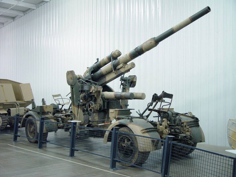 Зенитный огонь 36-37 88 мм