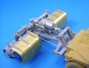 Kit résine - SPARK Mine Roller for Humvee - Legend LF1246