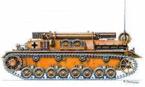 Bergepanzer IV résine kit CMK MV022