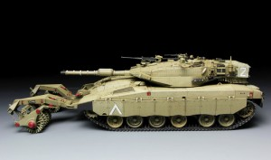 """Ізраїльський """"Меркава"""" МК.3 баз - модель Менг"""