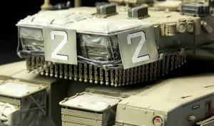 Izraelské Merkava Mk.3 BAZ - Meng Model