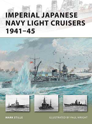 Imperial Japanese Navy Light Cruisers 1941-45 - NUOVO VANGUARD 187