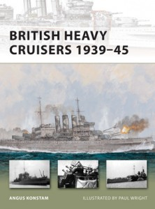 Britanski Težke Križarke 1939-45 - NOVO VANGUARD 190