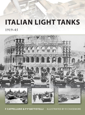 Italian Light Tanks 1919-45 - NEW VANGUARD 191New Vanguard 191